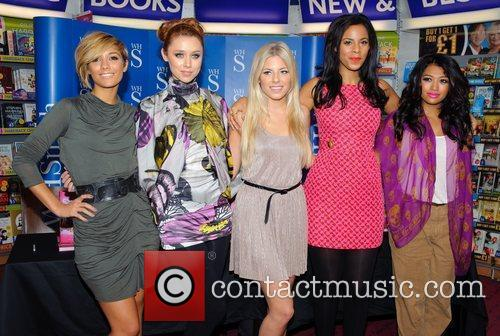 The Saturdays attend a photocall for their new...