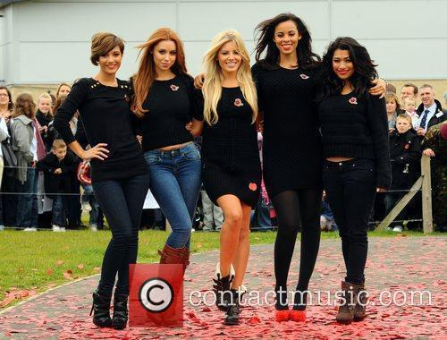 Frankie Sandford, Mollie King, Rochelle Wiseman, The Saturdays, Una Healy and Vanessa White 8