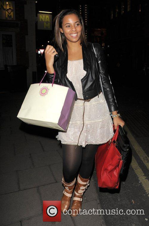 Rochelle Wiseman from girl band The Saturdays, leaving...