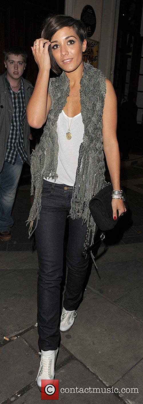 Frankie Sandford from girl group The Saturdays, leaving...