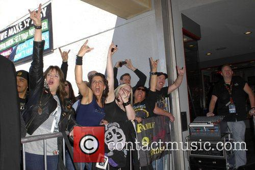 The Scorpions are inducted on Hollywood's RockWalk