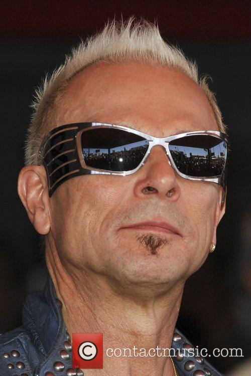 Rudolf Schenker The Scorpions are inducted on Hollywood's...