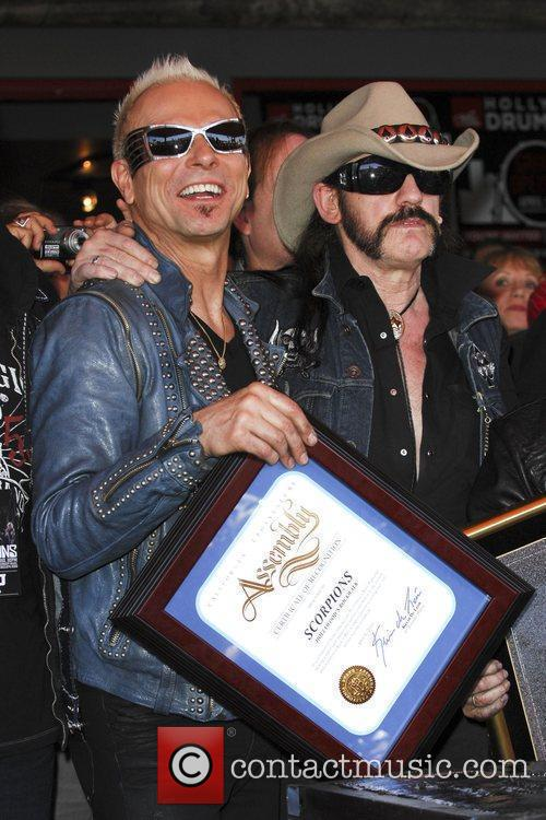 Rudolf Schenker and Lemmy Kilmister The Scorpions are...