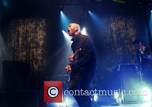 The Script performing live at Liverpool University Liverpool,...