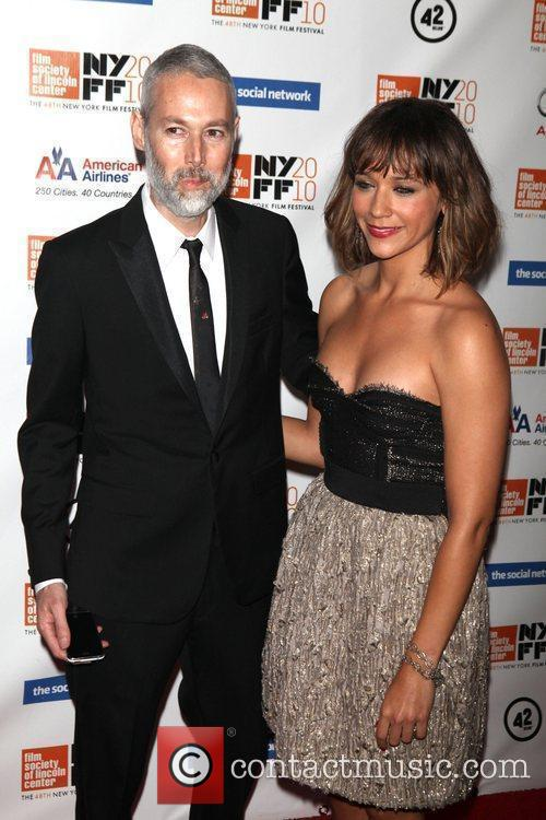 Adam Yauch and Rashida Jones