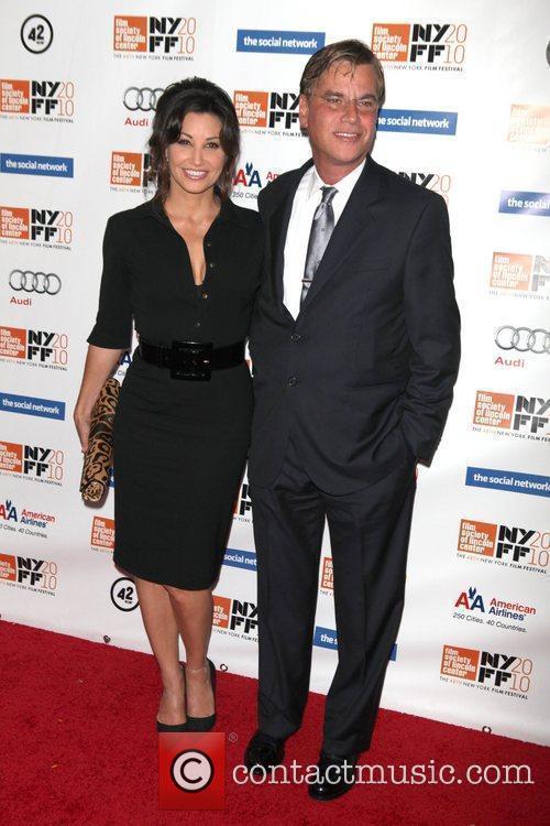Gina Gershon and Aaron Sorkin 4