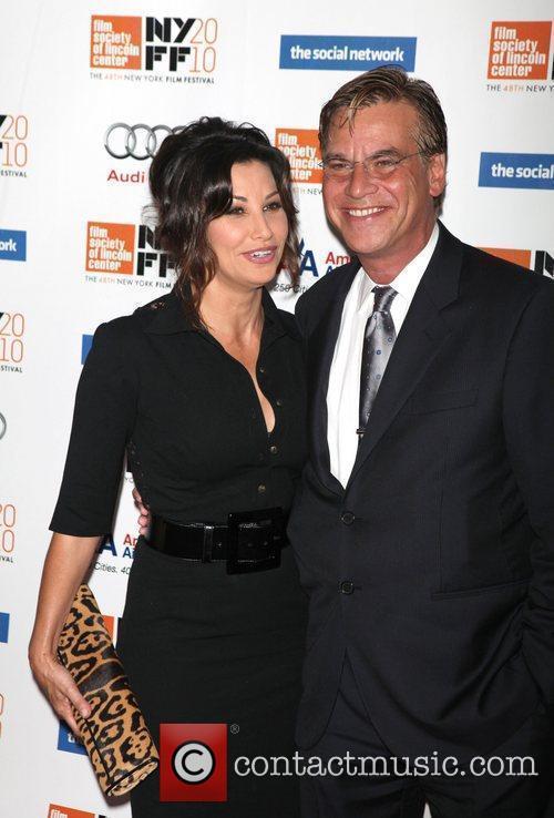 Gina Gershon and Aaron Sorkin 6
