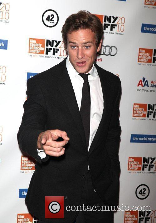 Armie Hammer The 48th New York Film Festival...