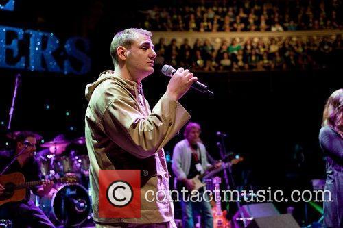 Rehearsing at the Royal Albert Hall ahead of...