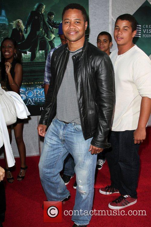 Cuba Gooding Jr. Creative Visions Foundation benefit screening...