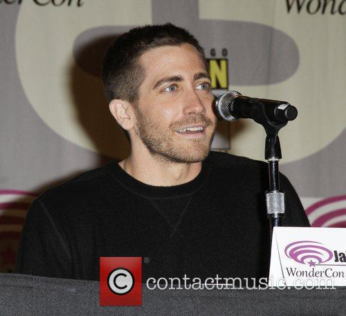 Jake Gyllenhaal promoting the new movie 'The Sorcerer's...