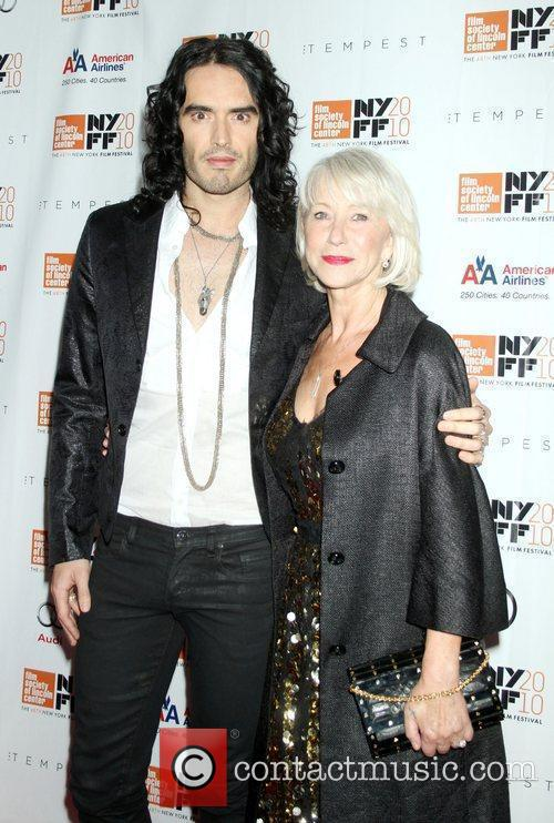 Russell Brand and Helen Mirren  48th New...