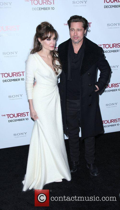 Angelina Jolie and Brad Pitt 5