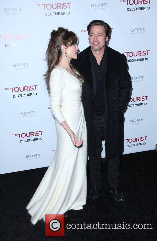 Angelina Jolie and Brad Pitt 14