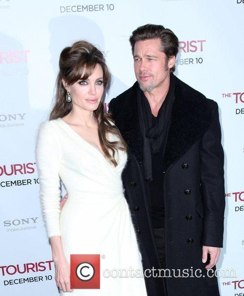 Angelina Jolie and Brad Pitt 12
