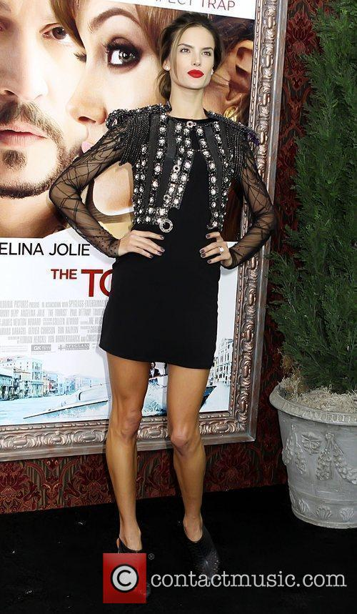 Alessandra Ambrosio World premiere of 'The Tourist' held...