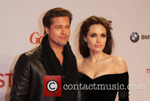 Angelina Jolie, Berlin and Brad Pitt 2