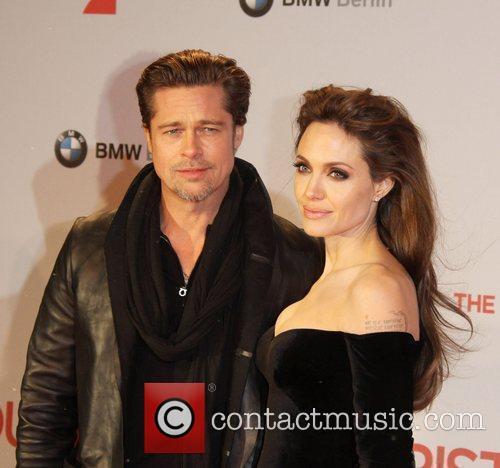 Angelina Jolie, Berlin and Brad Pitt 9