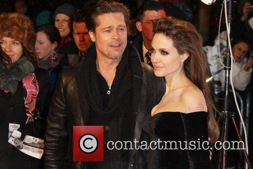 Angelina Jolie, Berlin and Brad Pitt 1
