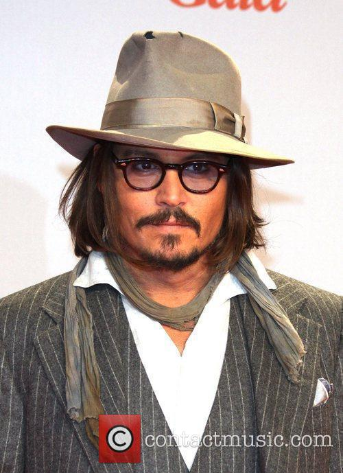 Johnny Depp and Berlin 8