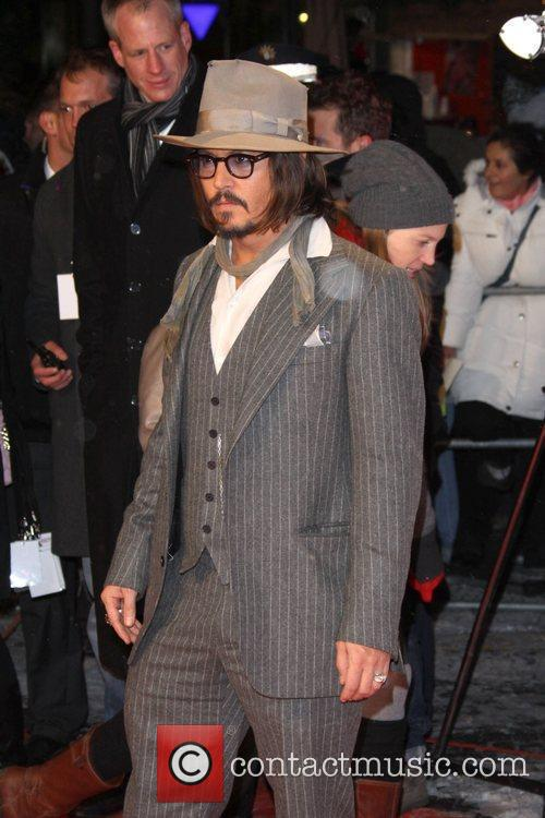 Johnny Depp and Berlin 11