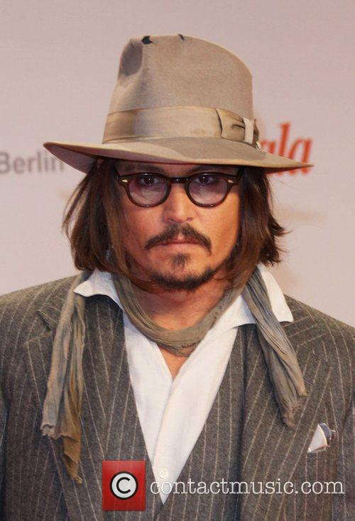 Johnny Depp and Berlin 7