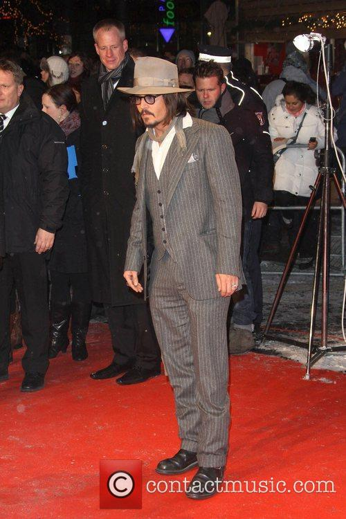 Johnny Depp and Berlin 6
