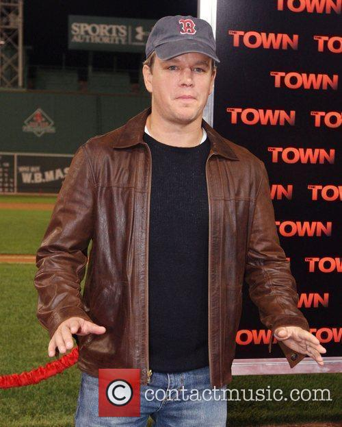 Premiere of 'The Town' at Fenway Park