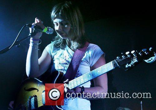 Frances McKee of The Vaselines performing at Liverpool...