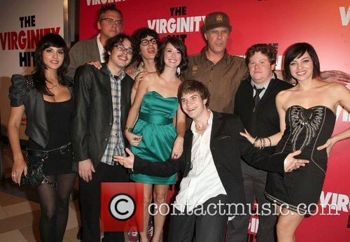 Sunny Leone, Adam McKay, Jacob Davich, Will Ferrell, LA Live