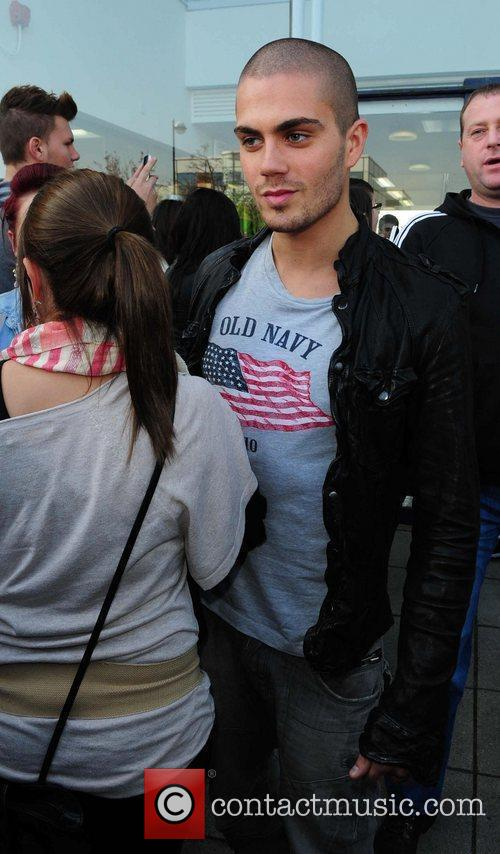 Max George Boyband The Wanted outside the Real...