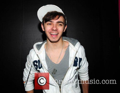Nathan Sykes The Wanted sign copies of their...
