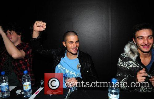 Jay Mcguiness, Max George and Tom Parker The...