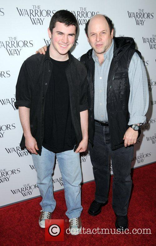 Jason Alexander and son Gabriel  The screening...
