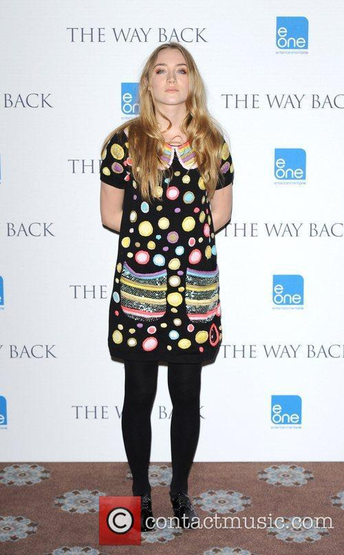 Saoirse Ronan Photocall for 'The Way Back' held...