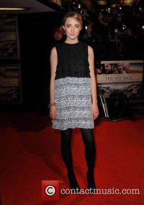 Saoirse Ronan 'The Way Back' UK premiere at...