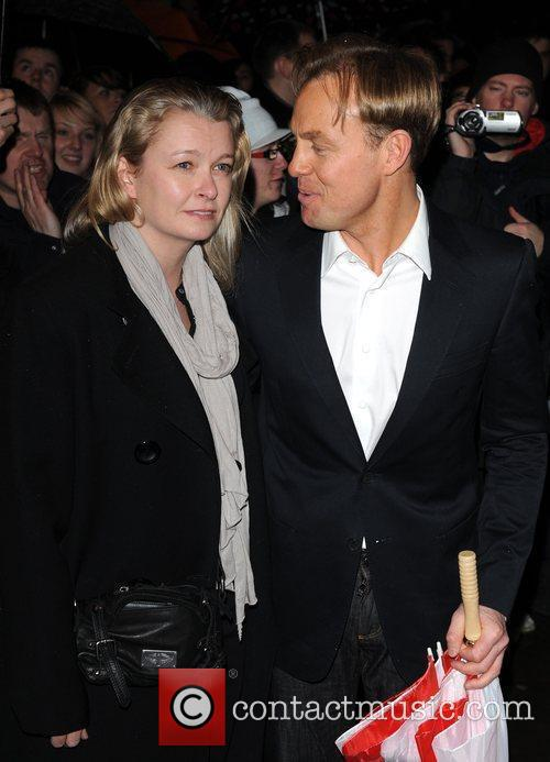 Jason Donovan and guest Whatsonstage.com Theatregoers' Choice Awards...