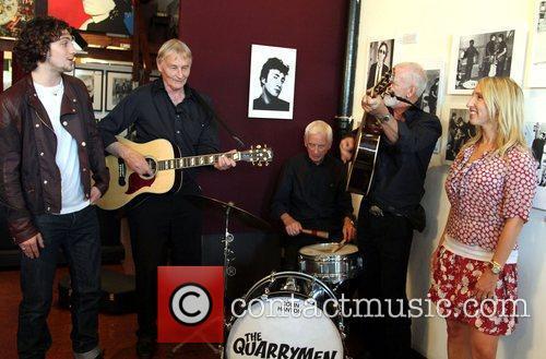 The Quarrymen, Aaron Johnson, John Lennon and Sam Taylor-Wood 4