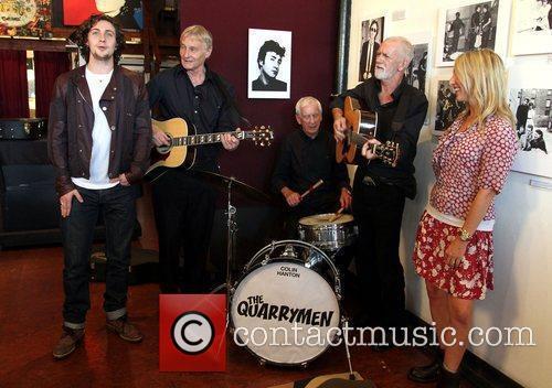 The Quarrymen, Aaron Johnson, John Lennon, Sam Taylor-Wood