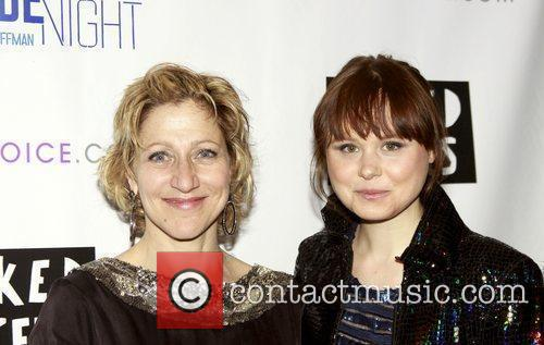 Edie Falco and Alison Pill attending the opening...