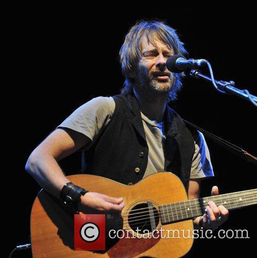 Thom Yorke performs at Cambridge Corn Exhange
