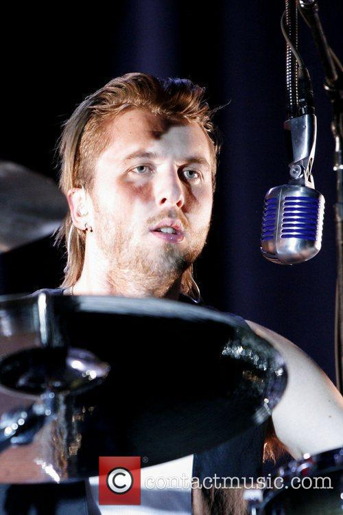 Neil Sanderson  of Canadian rock band Three...