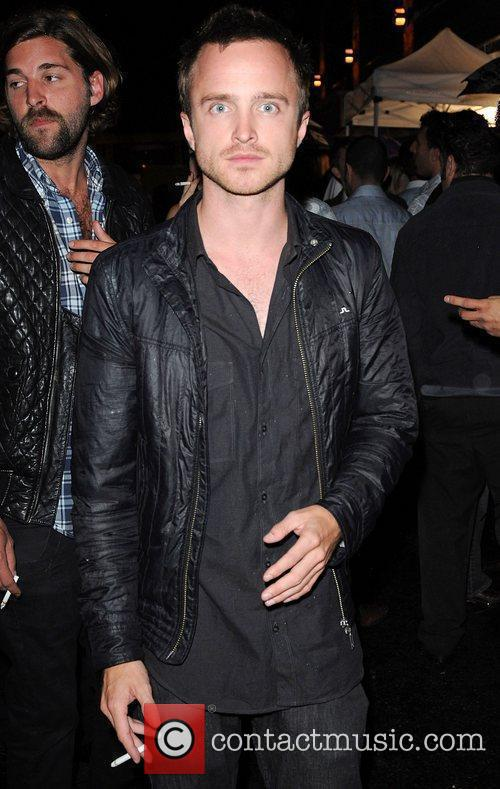 Aaron Paul attends the Instyle party at AME...