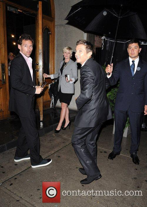 Jeremy Renner attends the Instyle party at AME...