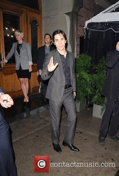 Justin Long attends the Instyle party at AME...