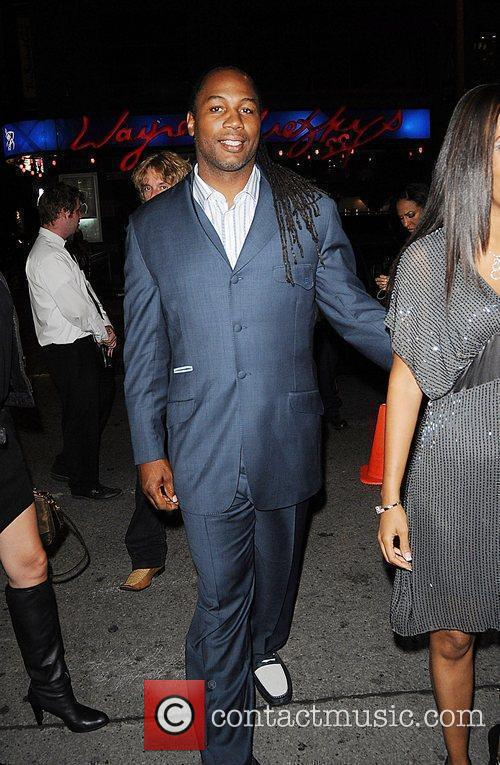 Lennox Lewis in town during the 35th Toronto...