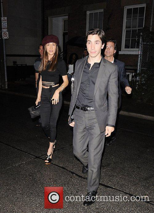 Maggie Q and Justin Long attend the Instyle...