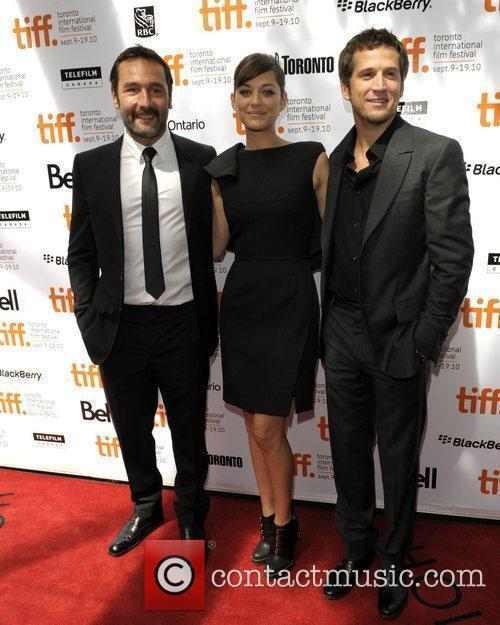 Gilles Lellouche, Marion Cotillard and White Lies