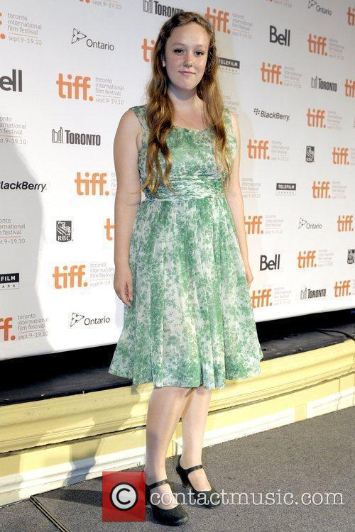 Hallie Switzer TIFF 2010 Press Conference held at...
