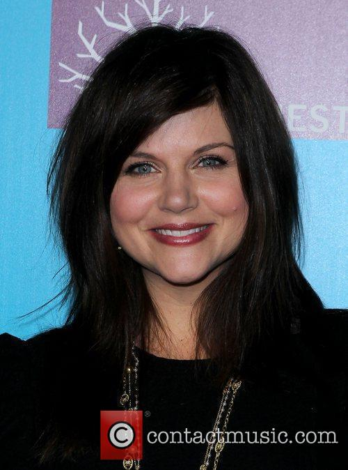 Tiffani Thiessen  Actress Tiffani Thiessen and celebrity...